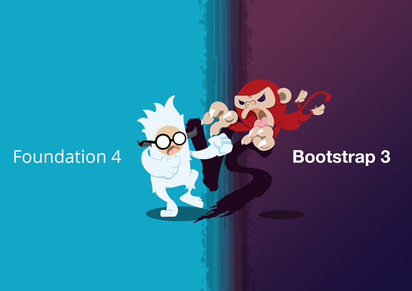 bootstrap3-vs-foundation4