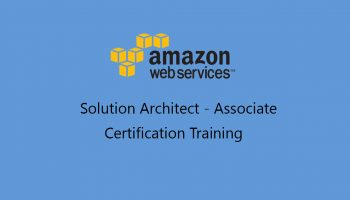 AWS solution architect associate certification training